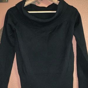Dana Buchan cowl neck sweater